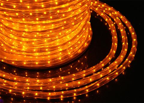 светодиодная лента дюралайт LED желтый