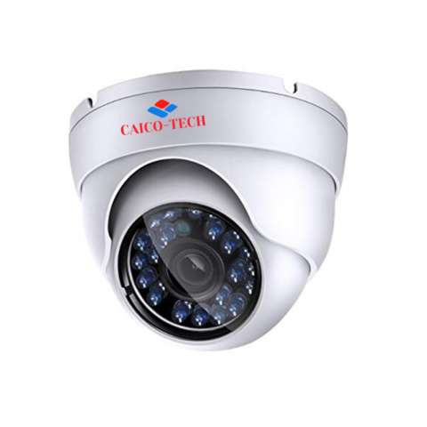 Видеокамера для помещения HD 1МП CAICO CA20R720PV2 гибрид 4в1 AHD, CVI, TVI, CVBS;