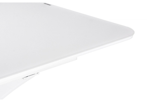 Стеклянный стол кухонный, обеденный, для гостиной Horns 140 super white 90*90*76 Super white