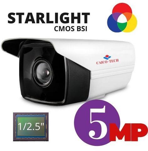 Уличная видеокамера CAICO TECH® CCTV 5D51H 5Mpix гибрид формат вывода изображения AHD, CVI, TVI, CVBS
