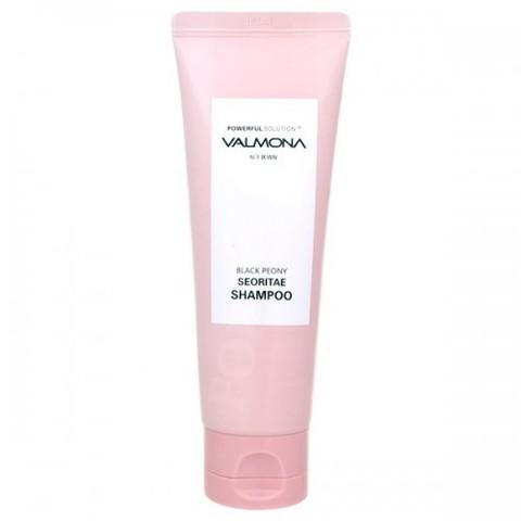 Шампунь для волос ЧЕРНЫЙ ПИОН / БОБЫ VALMONA Powerful Solution Black Peony Seoritae Shampoo, 100 мл
