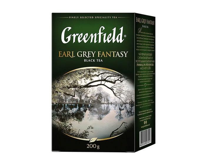 купить Чай черный листовой Greenfield Earl Grey Fantasy, 200 г