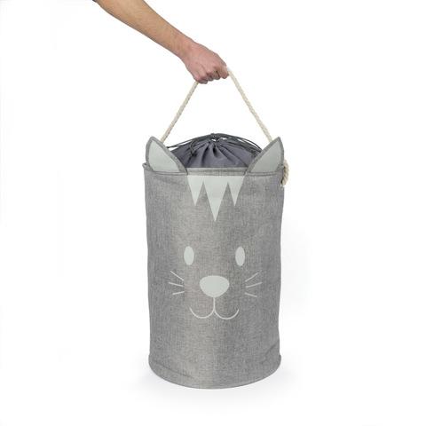 Корзина для белья Meow!