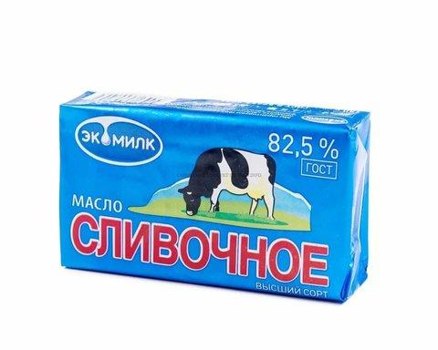 Масло Эко милк 82.5% пачка  ИП