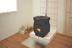 Отопительная печь ТОП-драйв-150