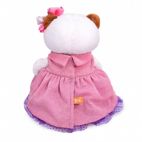 Кошечка Ли-Ли в платье с люрексом