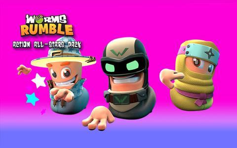 Worms Rumble - Action All-Stars Pack (для ПК, цифровой ключ)