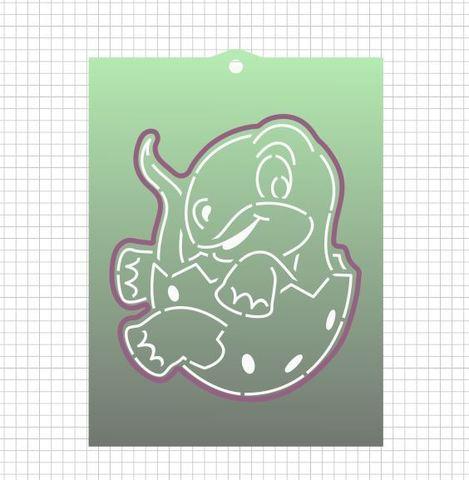 Набор №2143 - Динозаврик