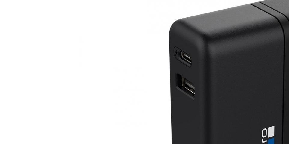 Сетевое зарядное устройство GoPro Supercharger (AWALC-002) usb входы