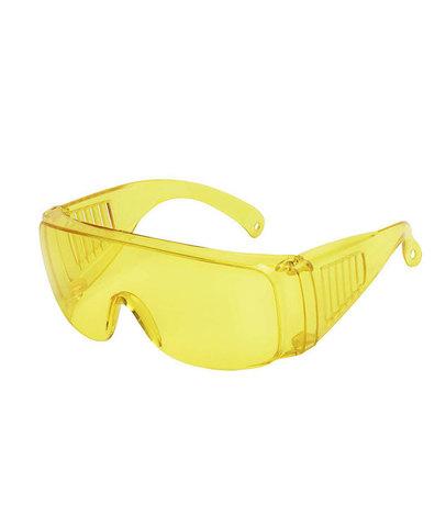 Пластиковые защитные очки. Аритикул ЗЖ. Вид полупрофиль.