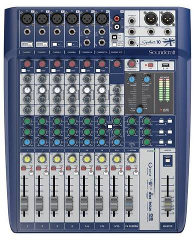 SOUNDCRAFT Signature 10 аналоговый микшер