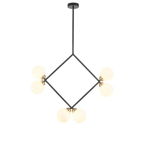 Потолочный светильник копия Rhombus by Atelier Areti (черный)