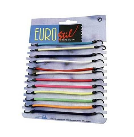 Резинки с крючками цветные