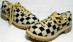 Туфли на шнурках женские Goby TMK6506