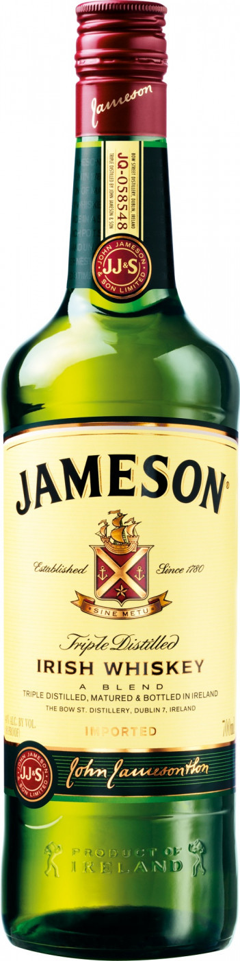 Віскі Jameson Irish Whiskey