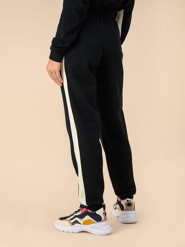Женские брюки черного цвета из 100% шерсти - фото 3