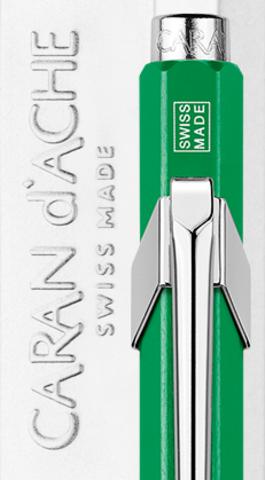 Carandache Office 849 Pop Line - Metallic Green, шариковая ручка, M