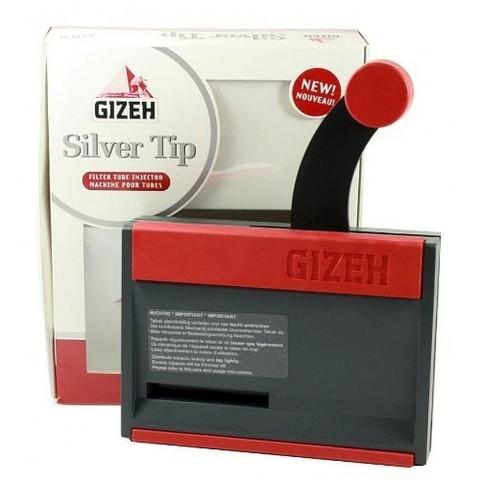 Поршневая машинка для набивки сигаретных гильз Gizeh Silver Tip Premium 8мм