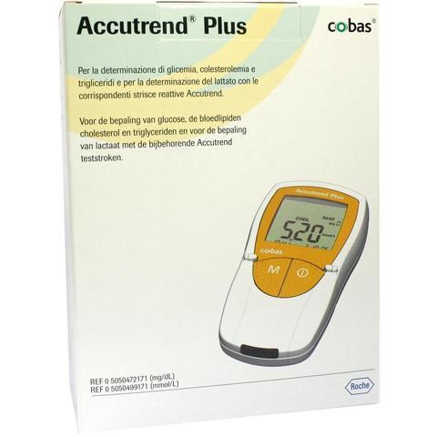 Биохимический портативный анализатор Аккутренд Плюс (Accutrend plus) (Roche Diagnostics GmbH, Germany)