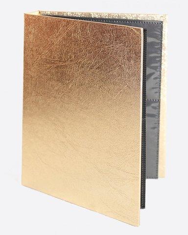 ARTEX Альбом для наклеек золото