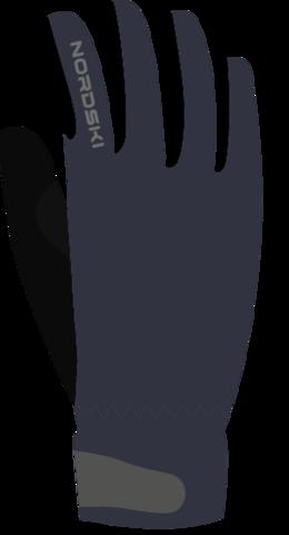 Перчатки Nordski Jr.Racing Blueberry WS детские
