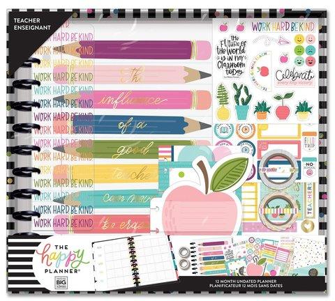 Набор для заполнения ежедневника  + планер Create 365 Planner Box Kit- 23 х 28 см. - Teacher enseignant