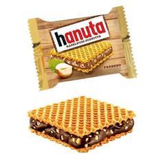 Hanuta minis c  шоколадом и орехами 200 гр