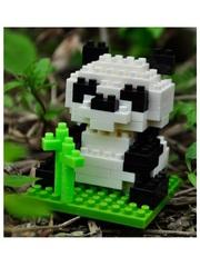 Конструктор Wisehawk & LNO Панда 94 детали NO. A3 Panda Gift Series