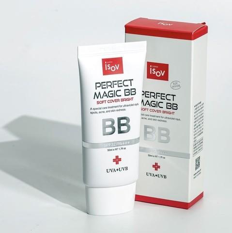 Тональный солнцезащитный крем Perfect Magic BB, iSOV, 50 мл.