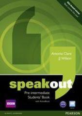 speakout Pre-Intermediate Student's book and DV...