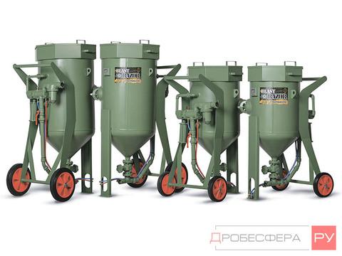 Пескоструйный аппарат Contracor RAZOR DBS 100 RCS