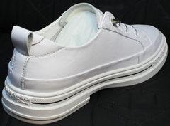 Женские спортивные туфли кроссовки кэжуал El Passo sy9002-2 Sport White.