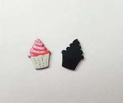 Кабошоны-фигурки мини, пластиковые, 1 шт.