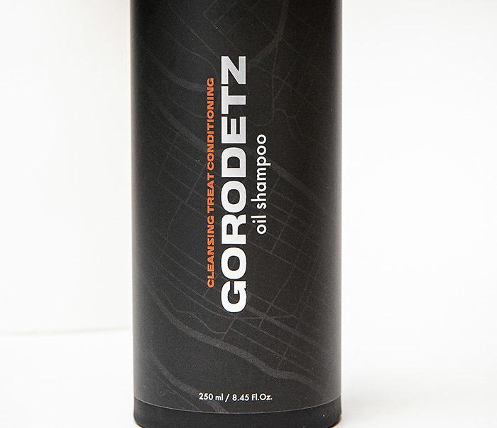RAZ320 Мужской масляной шампунь и кондиционер 2 в 1,  «Gorodetz» (250 мл) фото 02