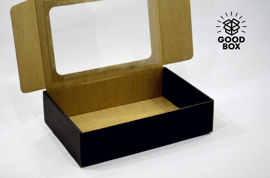 Коробка с окошком купить в Казахстане недорого