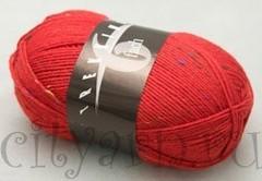 1856 / ярко-красный с разноцветными вкраплениями