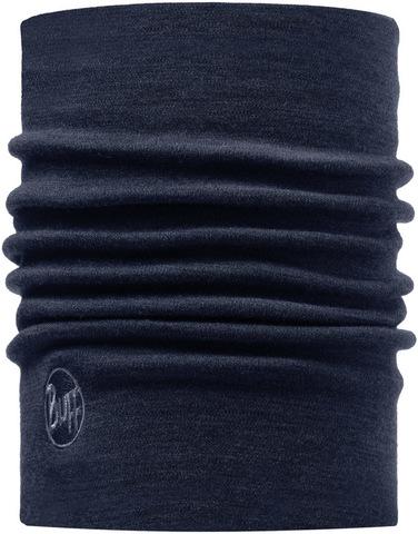 Теплый шерстяной шарф-труба Buff Denim фото 1
