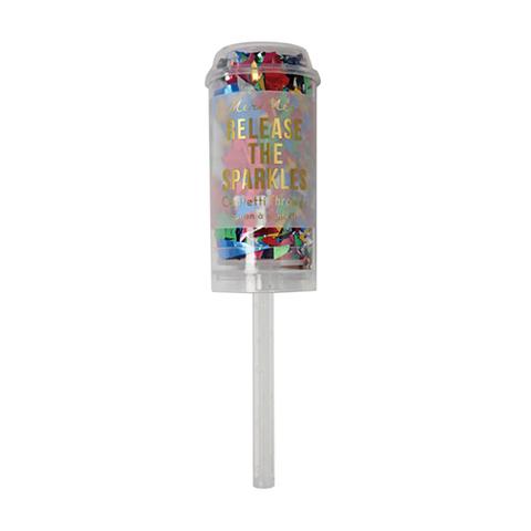 Хлопушка с конфетти, разноцветный