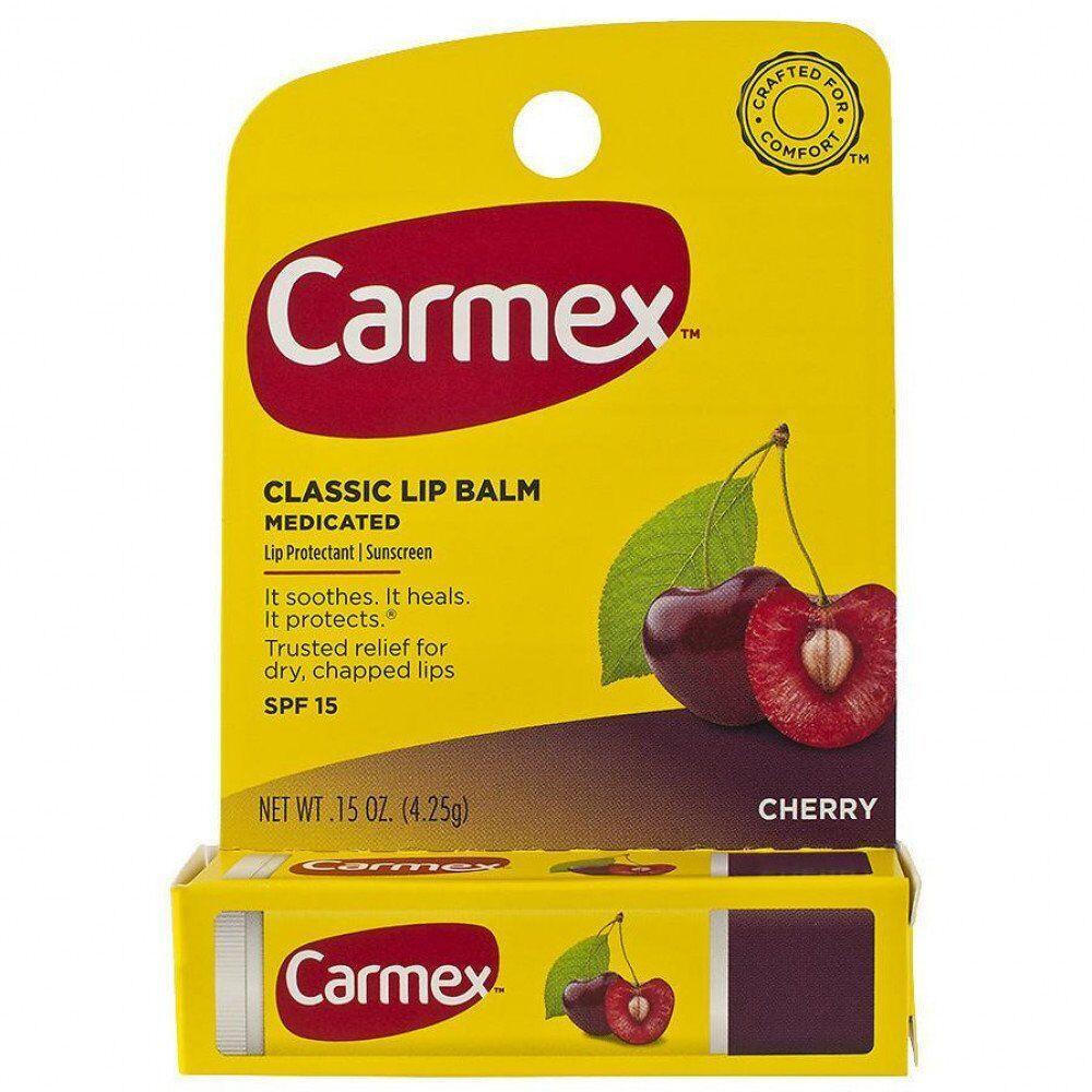 Бальзам  для губ Carmex в стике Cherry (Вишня)