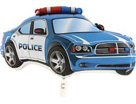 Фольгированный шар Машина полиция