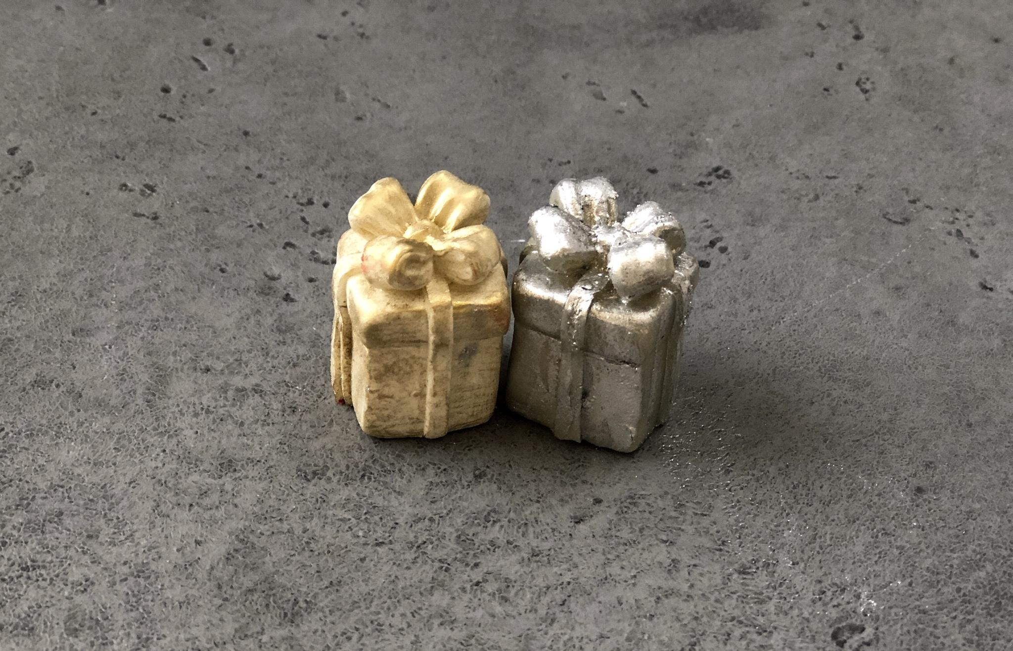 Силиконовая форма «Подарки с бантиком», 2х2х3,5 см