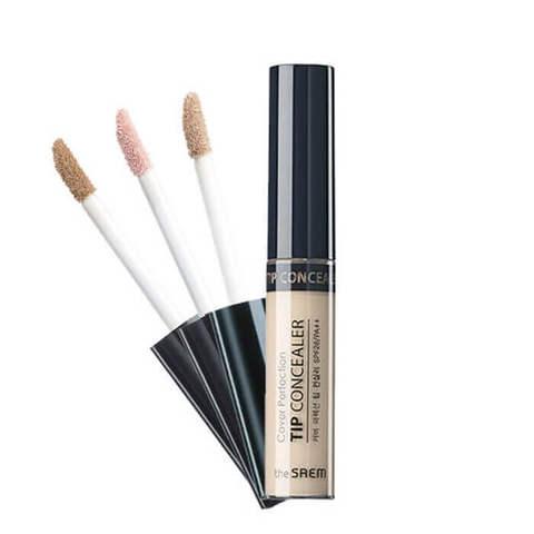 The Saem Cover Perfection Tip Concealer консилер для маскировки недостатков кожи