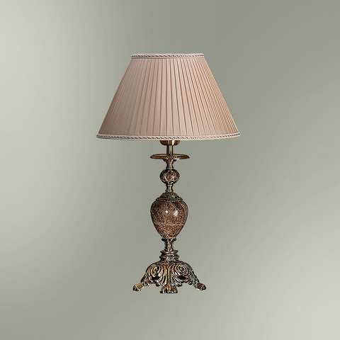 Настольная лампа с абажуром 29-08.56/8856 ВИКТОРИЯ