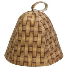 Шапка «Плетение» в ассортименте, войлок 100%