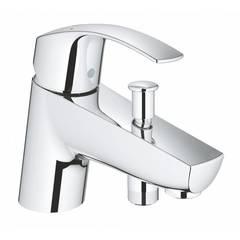Смеситель на борт ванны Grohe Eurosmart 33412002 фото