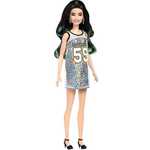 Барби Fashionistas 110 в Блестящем Платье-майке