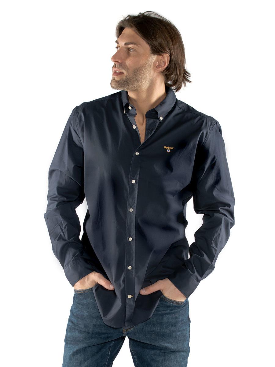 Barbour рубашка Saltire Stretch Poplin MSH4649/NY91
