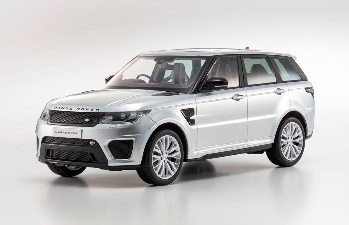 Коллекционная модель Range Rover Sport SVR 2016 Indus Silver