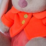 Зайка Ми в оранжевой куртке и юбке