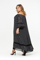 Платье Скарлетт с открытыми плечами 518109